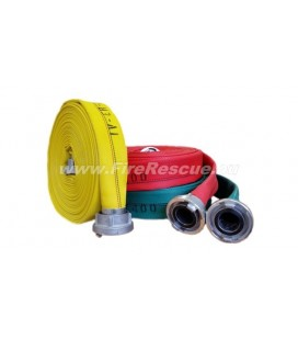 EUROFLEX TXS IRK FIREFIGHTING PRESSURE HOSE 75-B WITHOUT COUPLINGS
