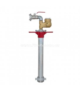 STANDPIPE FOR UNDERGROUND HYDRANT WITH WATER METER QN10 AND VALVE - DN80